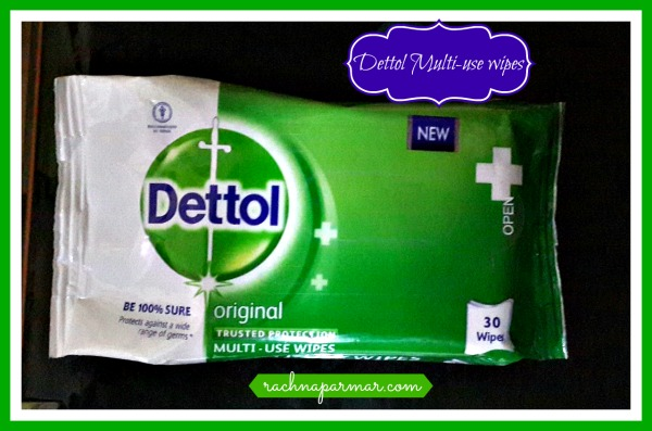 Dettol muti-use wipes