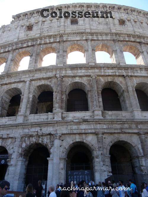 Colosseum Rome diaries