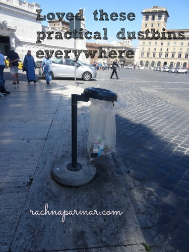 dustbins rome