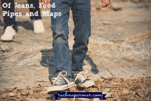 of jeans, food pipes and maps1