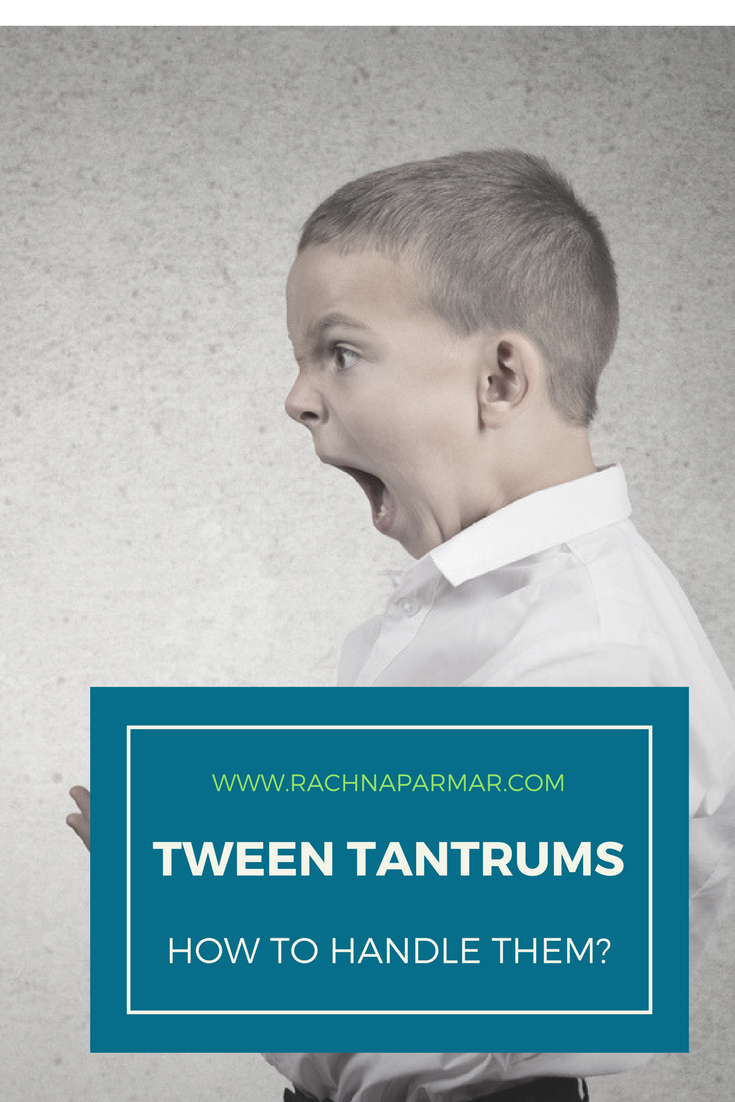How to Handle a Preteens Tantrums