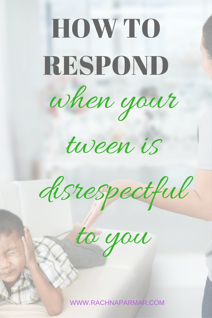 how to deal with disrespectful child