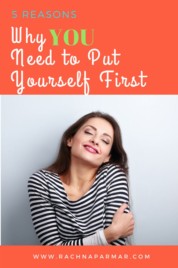 Why you need to put yourself first