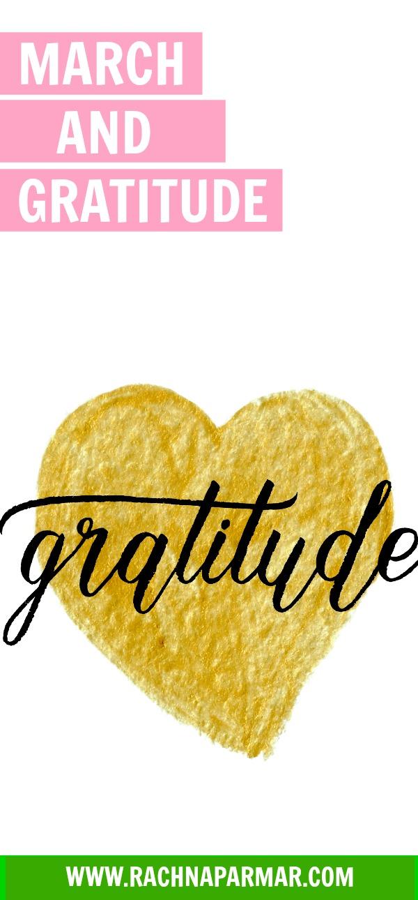 march gratitude pin rachna says