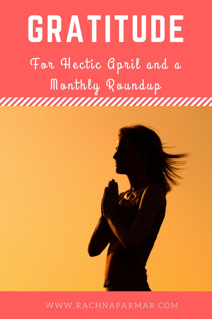 Gratitude April
